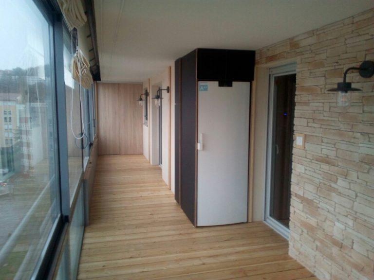 2 montage plancher et mobilier